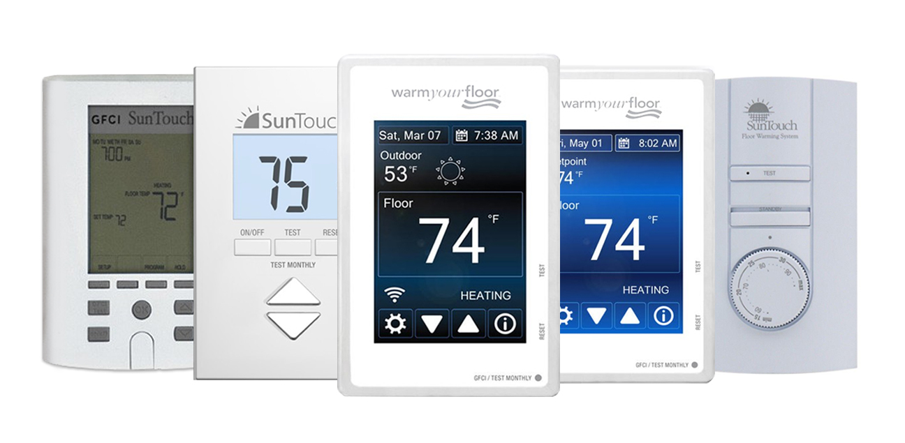 Suntouch Sunstat Thermostat Troubleshooting Knowledge Center